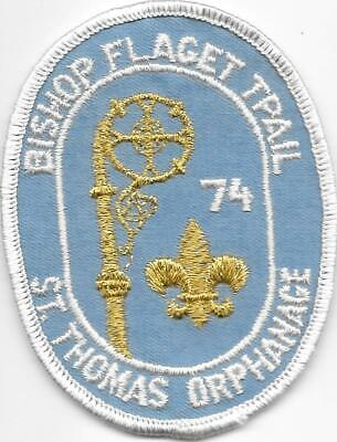 1974 Bishop Flaget Trail St. Thomas Orphanage Patch Boy Scouts of America BSA