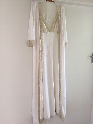 Women's Vintage Nightgown And Robe Size 10-12