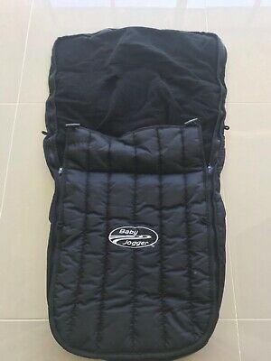Baby Jogger Foot Muff Black for City Select/multi fit in as new condition