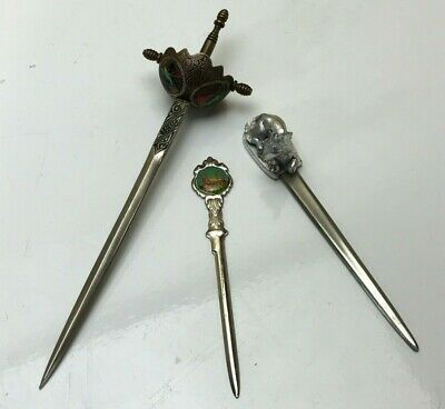 Bundle Of Vintage Letter Openers : Mixed Designs / Sizes