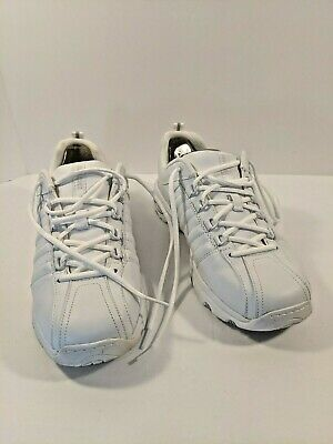 SKECHERS For Work 76380/W Womens White Slip Resistant Shoes Size 10 Excellent CL