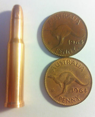 NEW 1.5 OZ 30-30 Caliber 999.0 Pure Australian Copper Bullet