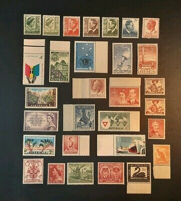 Australian stamps various. Predecimal  and decimal mint never hinged LOT NN