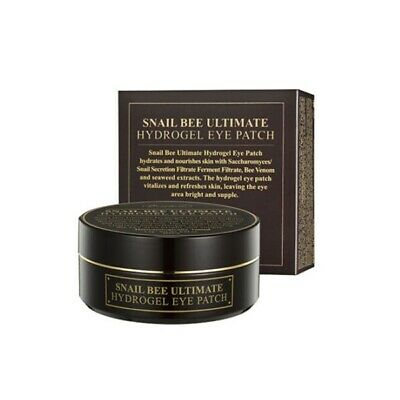 Benton Snail Bee Ultimate Hydrogel Eye Patch (60 Sheets) Soothing, Protecting