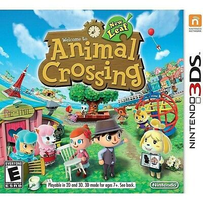 Animal Crossing New Leaf (Nintendo 3DS) - Digital Download Code Within 24 hours