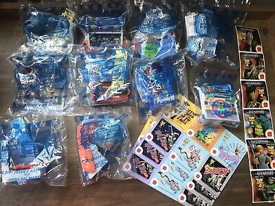 2019 McDonalds Toy Story 4  Happy Meal Toys Complete RV set With Stickers