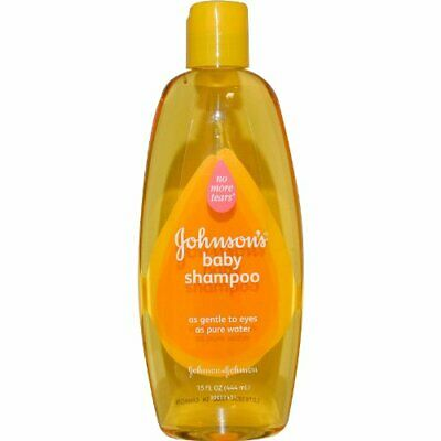 Johnson and Johnson Baby Shampoo, 15 Ounce