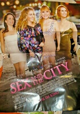 B59cm H82cm SEX AND THE CITY ORIGINAL KINO PLAKAT warner brothers pictures