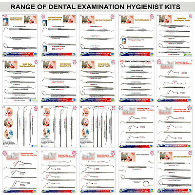 Professional Hygienist Tooth Scraper Examination Dental Kits Periodontal Scalers