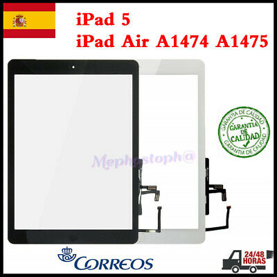 Pantalla Tactil Para iPad 5 / iPad Air A1474 A1475 Touch Digitalizador + Botón