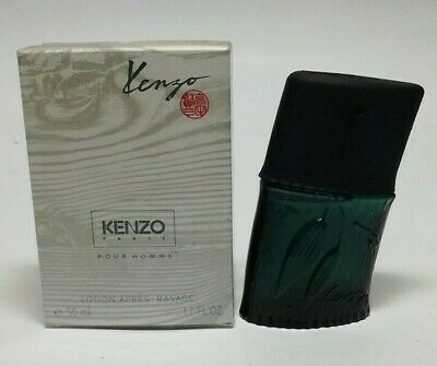 Kenzo Pour Homme  After Shave  ML  Lotion Splash (No Spray) New & Rare