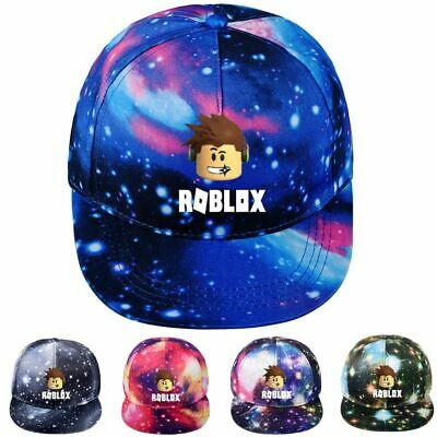 Stylish Roblox Galaxy Printed Kids Mens Summer Cap Casual Adjustable Snapback
