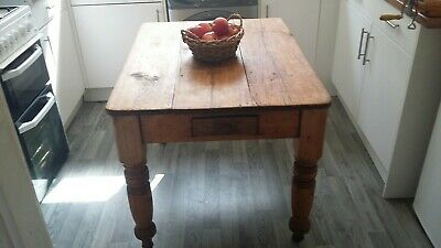 Rustic Antique pine Table