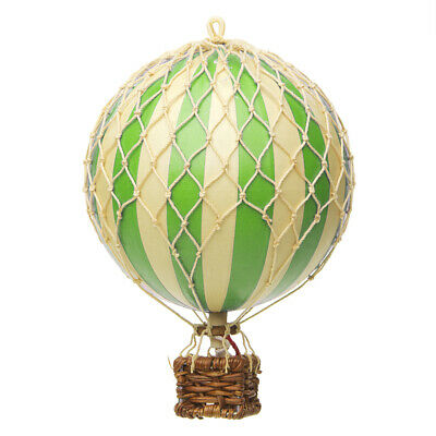 NEW Authentic Models Floating the Skies Green Balloon Model