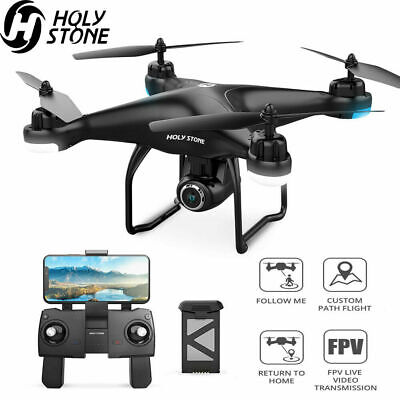 Holy Stone HS120D FPV Drone GPS with Camera 1080P Selfie RC Quadcopter Follow Me