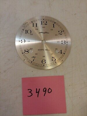 Howard Miller Ship's Bell Clock Dial From Movement 132-071