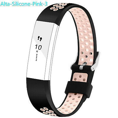 Replacement Silicone Sports Watch Band Strap Bracelet For Fitbit Alta & Alta HR