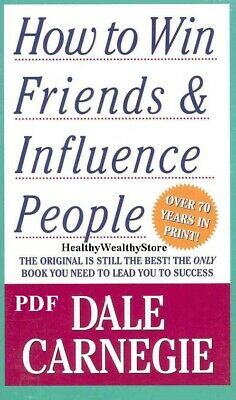 How to Win Friends and Influence People by Dale Carnegie P.D.F ⭐Fast Delivery⭐