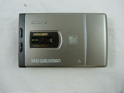 Sony MD Walkman MZ-E20 - Portable Mini Disc Player