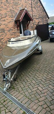 speedboat sims super v day boat trailer and outboard