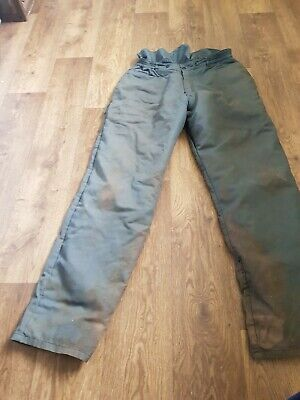 Chainsaw trousers used