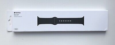 GENUINE APPLE WATCH SPORT BAND STRAP 38/40mm DARK OLIVE  **VERY RARE**