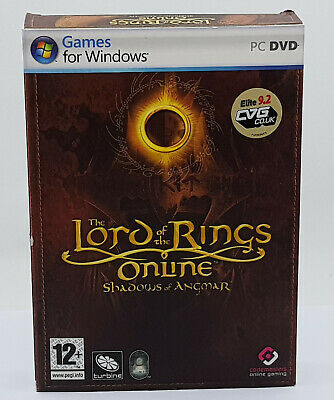 Lord Of The Rings Online Shadows Of Angmar (PC: Windows,)Original Boxed Version