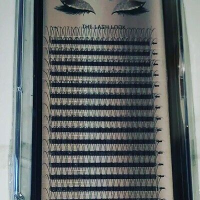 Pre made Russian Volume Fan Lashes 3D Mink Eyelash Extensions C D Curl