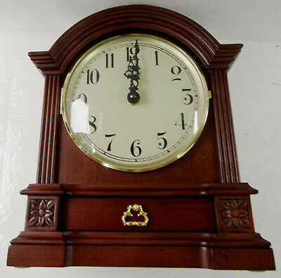 New Hermle Barrister Style Mantle Clock With  Harmonic Chimes  C22915-N9Q
