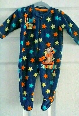 Disney at George Tigger Fleece All in One 3-6 Months
