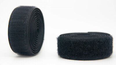 Black Sew-on Polyester Hook & Loop tape Alfatex® Brand by the Velcro Companies