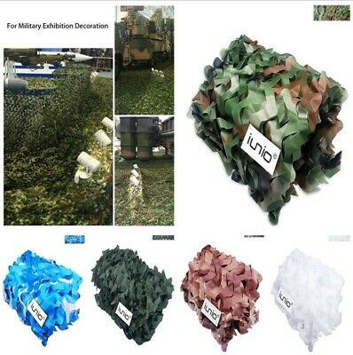 Camouflage Camo Net Netting Hide Military Hunting Shoot Army Woodland Camping
