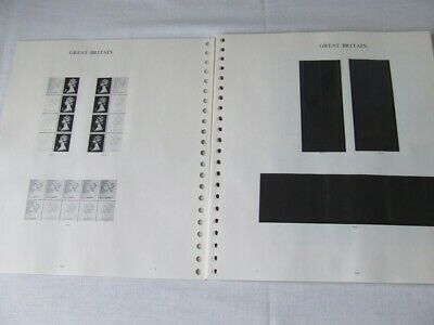 Stanley Gibbons Windsor Definitive Great Britain Stamp Album Pages 1982-90
