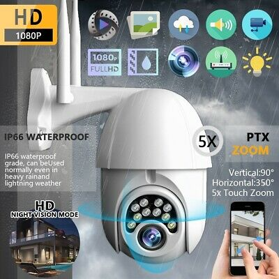 Security Surveillance IP Camera Onvif WiFi 1080P Wireless Speed Dome IR Outdoor
