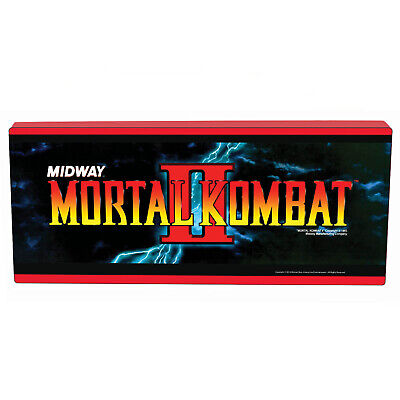 Arcade1Up Collectibles - Mortal Kombat II Marquee Wall Light [Brand New]