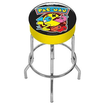 Arcade1Up - Pac-Man Adjustable Stool [Brand New]