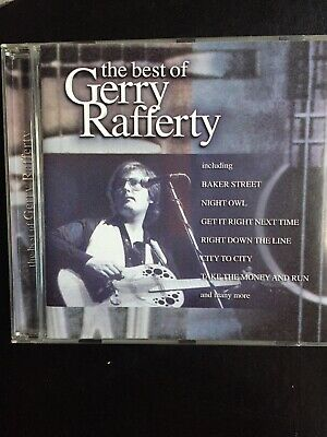 The Best Of Gerry Rafferty Barely Used 16 Track Greatest Hits Cd 70s 80s Pop