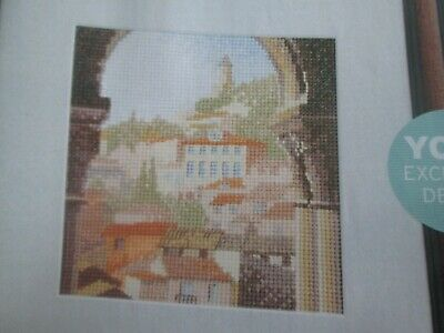 'Summer Archway' Cross Stitch chart (Only)