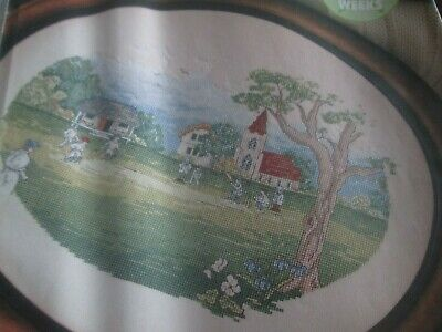 'A Day On The Green' Cross Stitch chart (Only)
