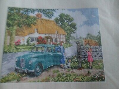 'Country Idyll' Cross Stitch chart (Only)