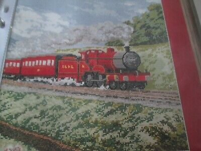 'The Midland Red' Cross Stitch chart (Only)