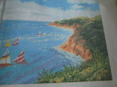 'Sunny Sailing' Cross Stitch chart (Only)