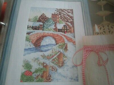 'Winter's Charm' Cross Stitch chart (Only)