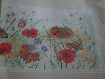 'Your Country Getaway' Cross Stitch chart (Only)