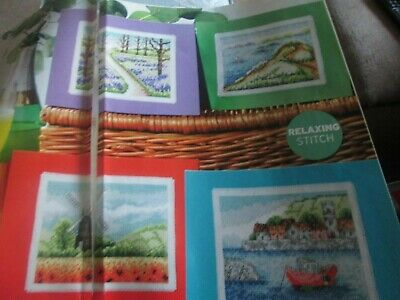 'Sights Of The Summer' Cross Stitch chart (Only)