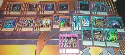 Yu-Gi-Oh! COMPETITIVE 40 Card Complete Cyber Dragon Deck + FULL Extra Deck!+List