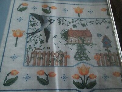 'Cottage In The Country' Cross Stitch chart (Only)