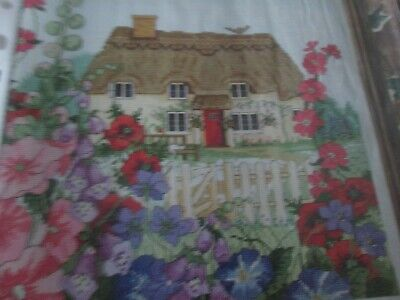 'English Country Garden' Cross Stitch chart (Only)