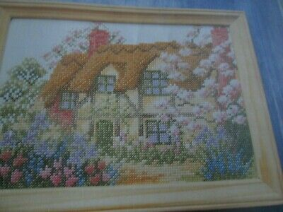 'Spring Cottage' Cross Stitch chart (Only)