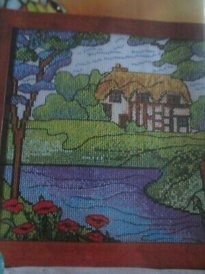 'A Cottage In The Country' Cross Stitch chart (Only)